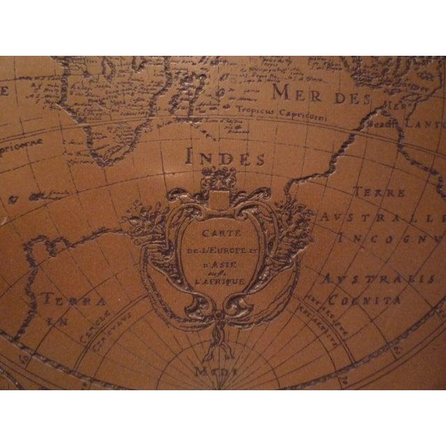 Handmade Bronze Brass Map - Image 5 of 7