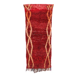Runner Moroccan Red Rug For Sale