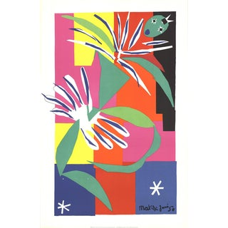 Henri Matisse-Creole Dancer-1984 Lithograph For Sale