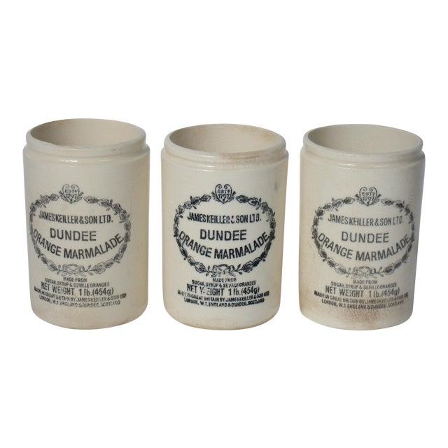 Vintage English Marmalade Jars - Set of 3 - Image 1 of 3