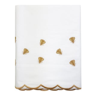 Scattered Bees King Flat Sheet For Sale