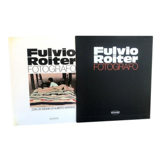 Fulvio Roiter Fotografo, Book by Fulvio Roiter With an Essay by Alberto Moravia For Sale