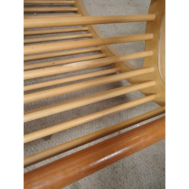 Wood Rocking Chair For Sale - Image 5 of 7