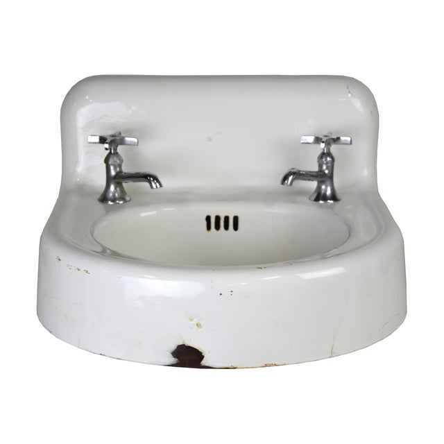 Kohler Vintage Cast Iron Enamel Sink - Image 1 of 4