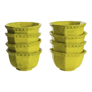 Rosenthal Netter Yellow Soup Bowls - Set of 8 For Sale