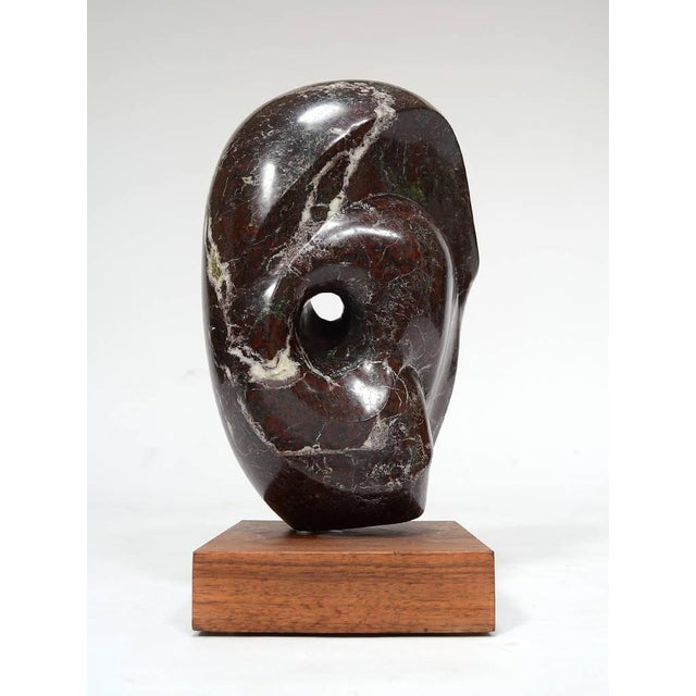 Abstract Marble Sculpture in the Manner of Barbara Hepworth - Image 11 of 11