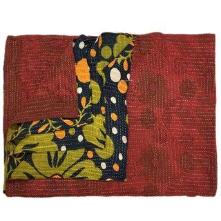 Rug & Relic Vintage Kantha Quilt For Sale