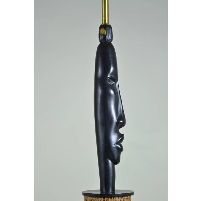 African Style Modern Lamp, Circa 1950s - Image 6 of 6