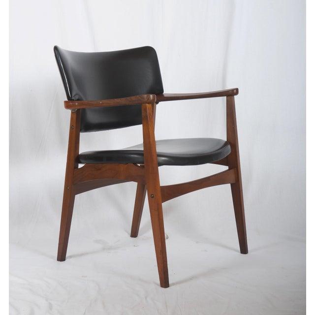 Mid 20th Century Scandinavian Armchair Attributed to Erik Kirkegaard For Sale - Image 5 of 8