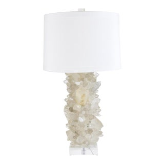 Valahalla Quartz Point Table Lamp For Sale