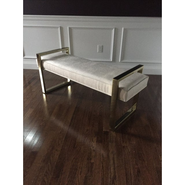 Bernhardt Jet Set Bench - Image 5 of 6
