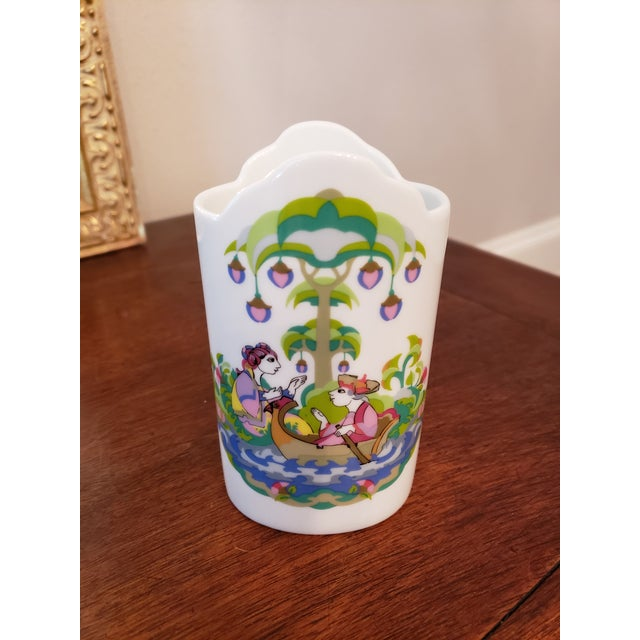 Bjorn Wiinblad 1960s Rosenthal Vase, by Bjorn Wiinblad For Sale - Image 4 of 5