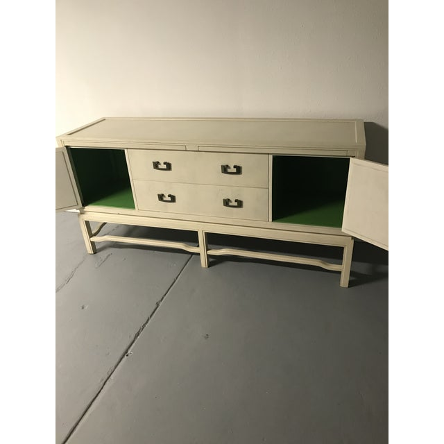 1960's Vintage White Washed Sideboard by Arthur Elrod For Sale In Saint Louis - Image 6 of 10