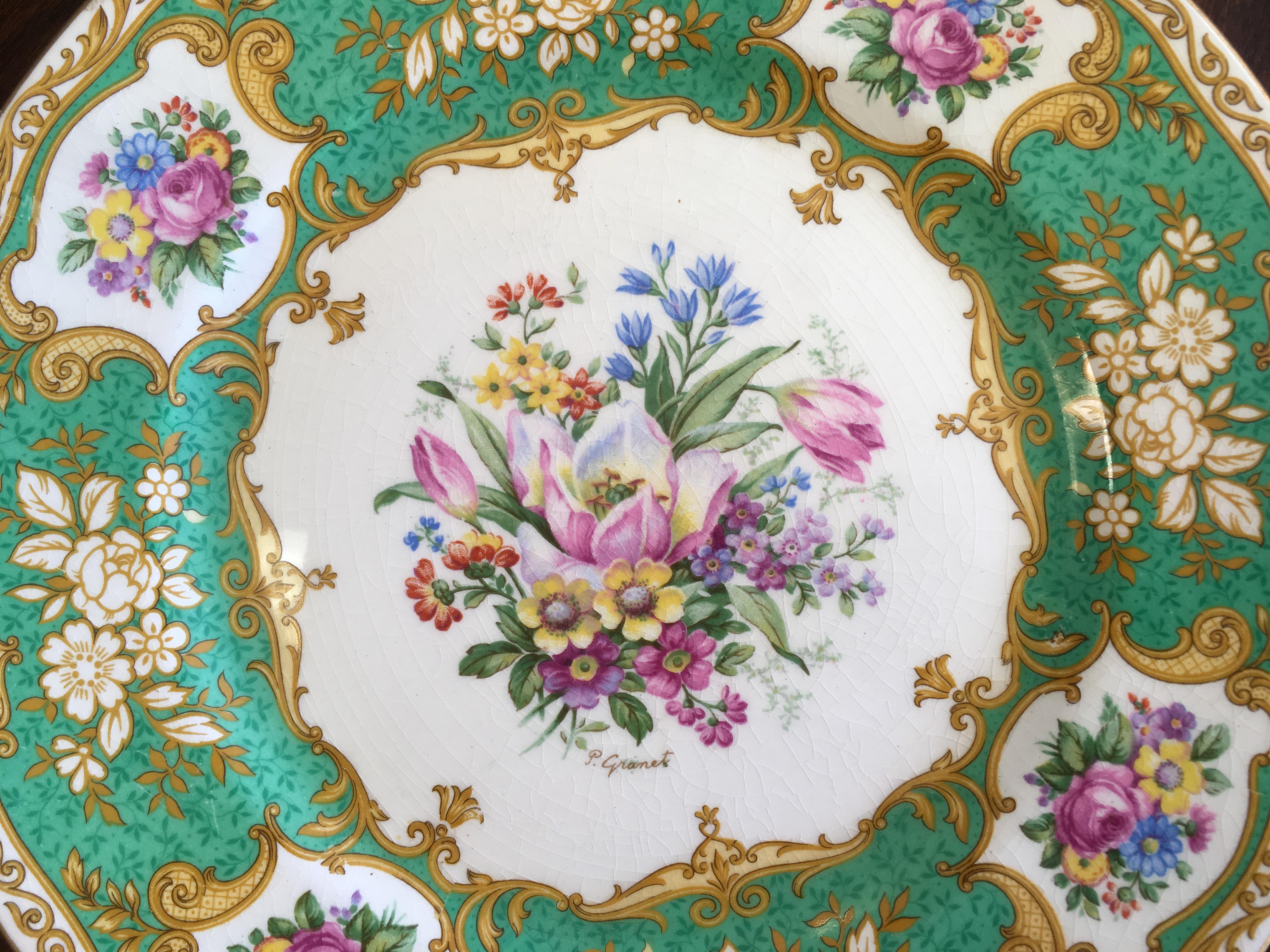 Myott Staffordshire Dinner Plates - Set of 14 - Image 4 of 11  sc 1 st  Chairish & Myott Staffordshire Dinner Plates - Set of 14   Chairish