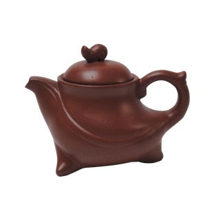 Chinese Handmade Yixing Zisha Purple Sand Clay Teapot