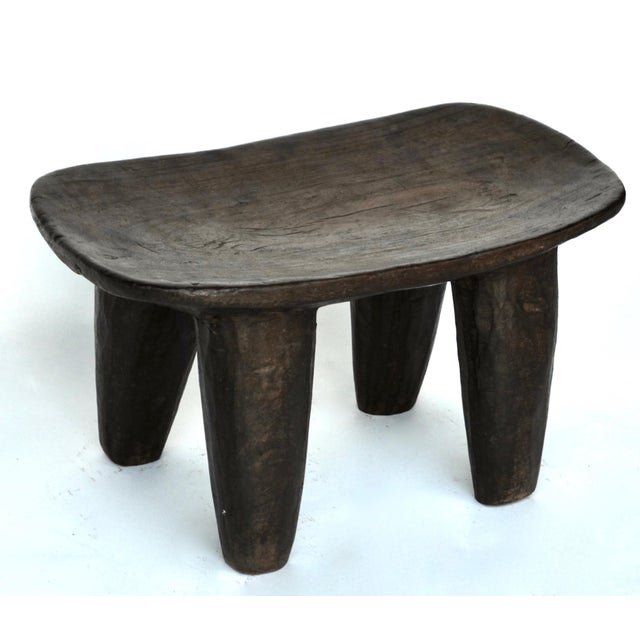 African African Senufo Wood Stool For Sale - Image 3 of 7
