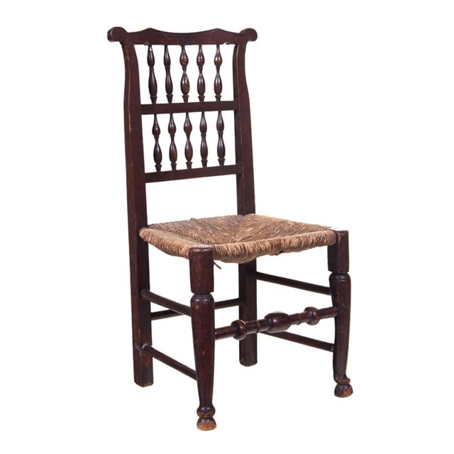 English 19th Century Farmhouse Chair For Sale - Image 5 of 5