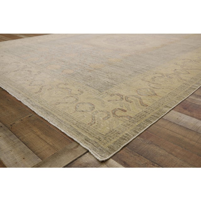 Transitional Khotan Style Area Rug - 8'9 X 12'2 For Sale In Dallas - Image 6 of 10