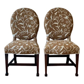 Pair of 18th Century English Side Chairs For Sale