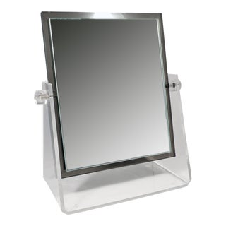 Vintage Lucite Adjustable Tabletop Mirror