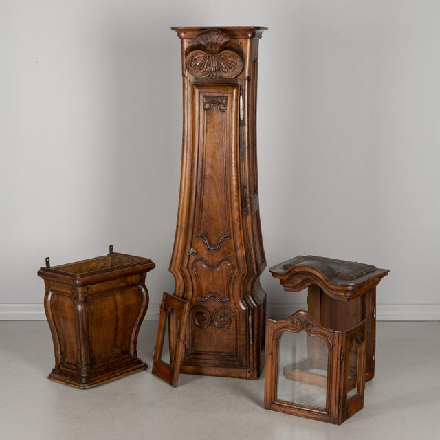 18th Century French Tall Case Clock or Horloge De Parquet For Sale - Image 11 of 13