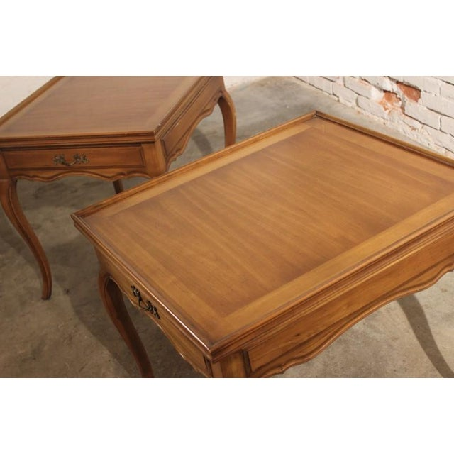 Widdicomb French Provincial Side Tables - A Pair - Image 5 of 5