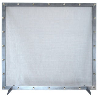 Modern Fireplace Screen For Sale
