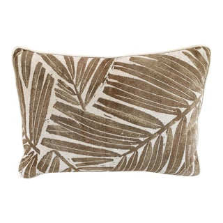 Kreiss Furniture Leaf Motif Accent Pillow