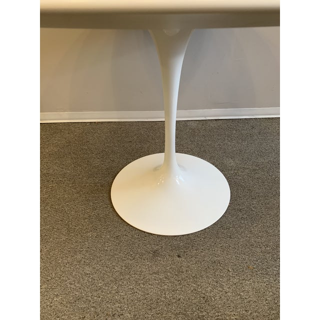 Metal Mid-Century Modern Saarinen Tulip Dining Table for Knoll For Sale - Image 7 of 12