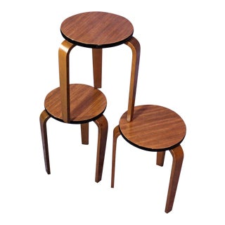 James Mont Art Deco Nesting Tables - Set of 3