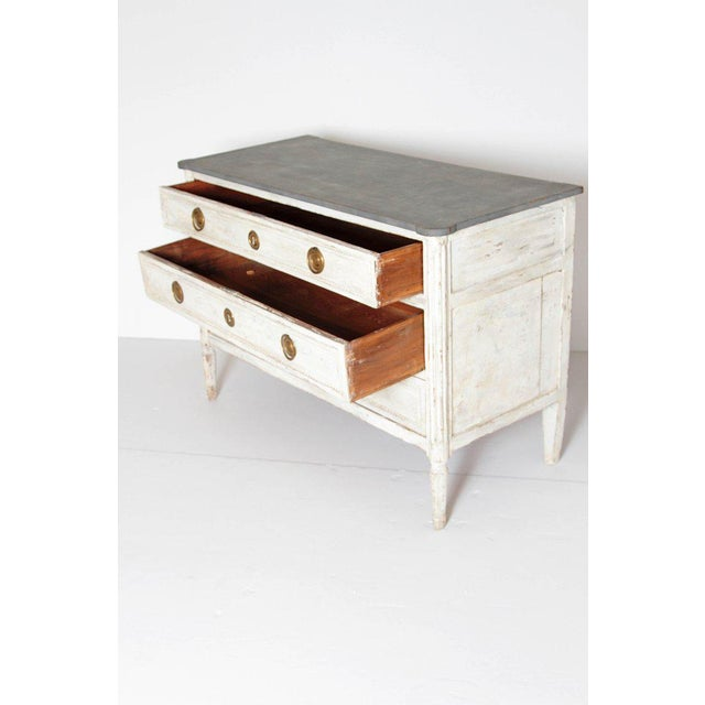 Antique French Louis XVI Style Chest of Drawers or Commode For Sale - Image 9 of 13