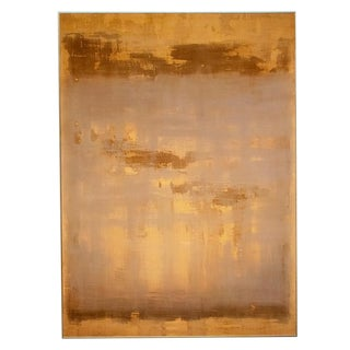 Large Color Field Untitled Ochre Lavender #3, Fine Art Giclée Reproduction on Archival Paper For Sale