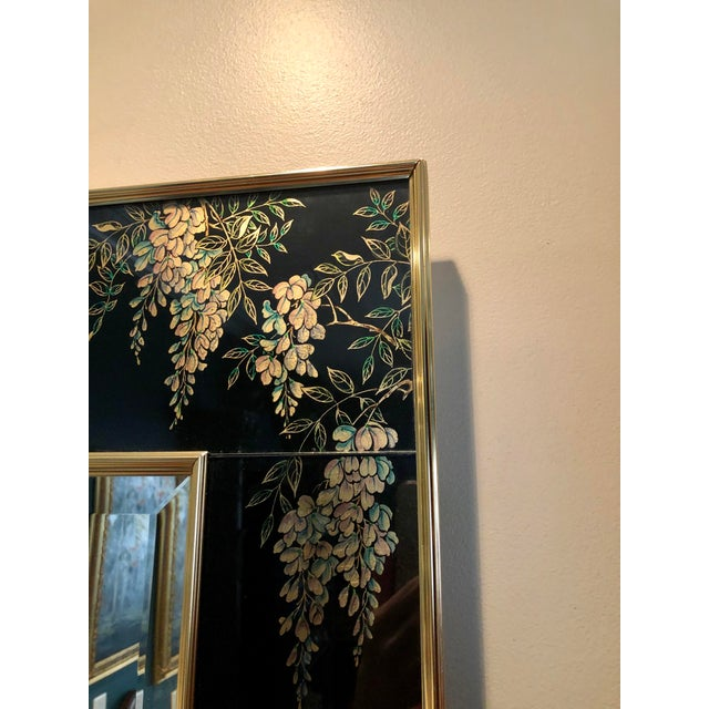 Labarge Labarge Eglomise Chinoiserie Mirror - Final Markdown For Sale - Image 4 of 12