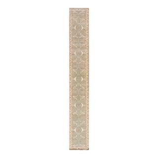 """Apadana - 21st Century Oushak Style Rug, 2'7"""" x 20'"""