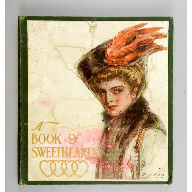 A Book of Sweethearts: Pictures by Famous American Artists. The Bobbs-Merrill Company, Indianapolis, 1908. Pictorial...