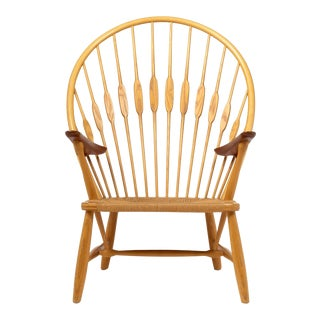 Hans Wegner for Johannes Hansen 'Peacock Chair', ca. 1947 For Sale