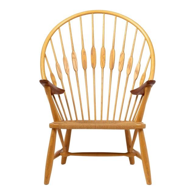 Hans Wegner for Johannes Hansen 'Peacock Chair', ca. 1947 For Sale