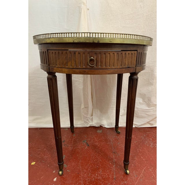 Louis XVI Style Gueriodon Table For Sale - Image 4 of 9