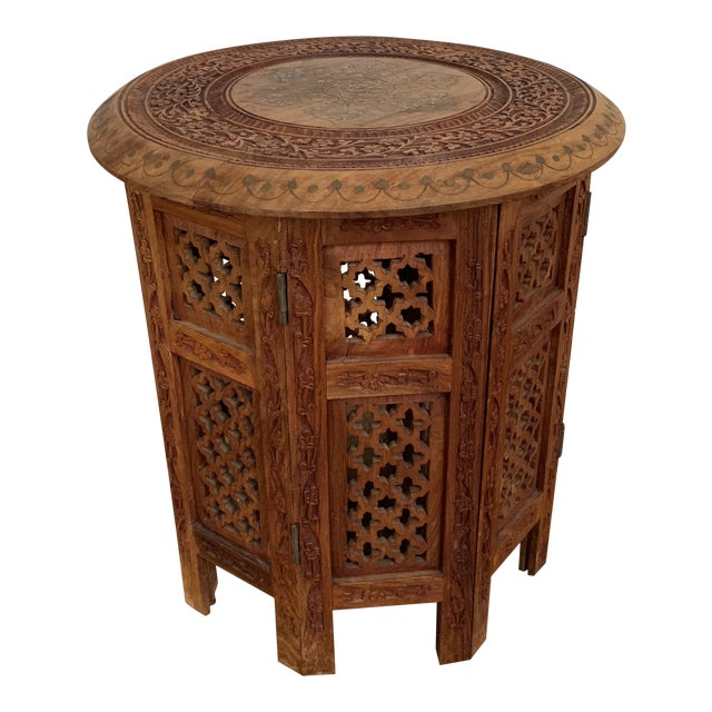 Moroccan Octagonal Side Table For Sale