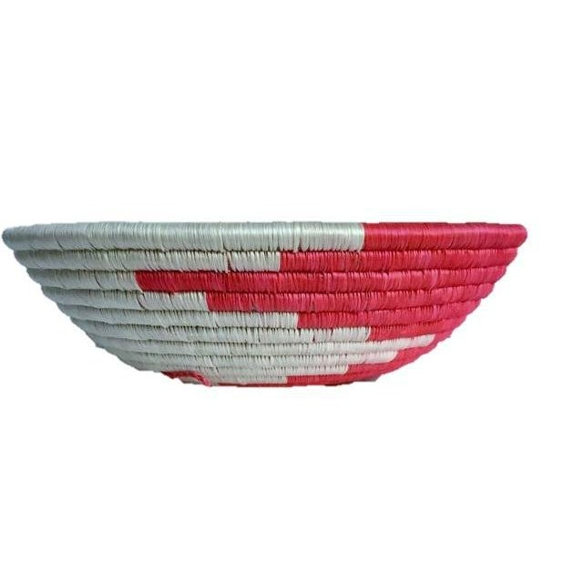 African Woven Basket - Image 3 of 8