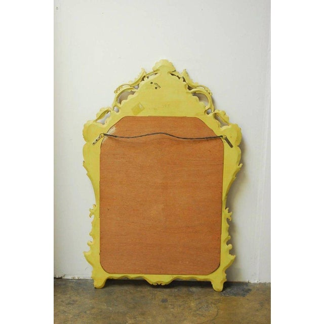 Venetian Chinoiserie Gilt and Lacquered Mirror For Sale - Image 10 of 10