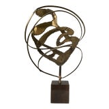 Image of Midcentury Modern Brutalist Sculpture For Sale