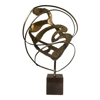 Midcentury Modern Brutalist Sculpture For Sale