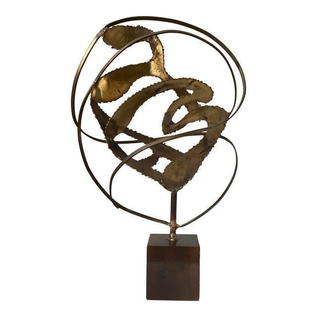 Midcentury Modern Brutalist Sculpture For Sale