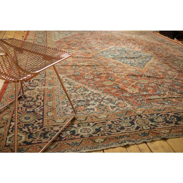 """Antique Mahal Square Carpet - 9'11"""" x 9'8"""" - Image 3 of 10"""