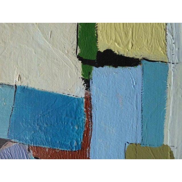 """Carrés Et Couch De Couleur"" an Original Contemporary Painting by American Artist Kenneth Joaquin For Sale - Image 10 of 13"