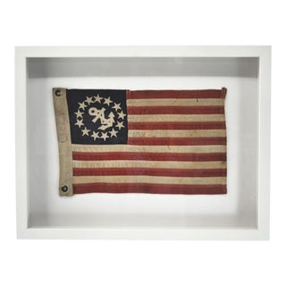 Yacht Boat Flag, Framed For Sale