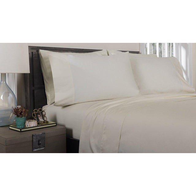 350 thread count, 100% extra long, extra fine combed cotton bedding for superior comfort while sleeping. Vat Dyed Color....
