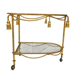 Tassel Tea Cart For Sale