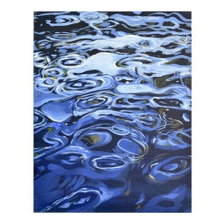 Water Ripples Acrylic Painting